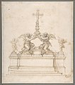 Design for an Altar with Kneeling Angels Supporting a Crucifix MET DP809481.jpg
