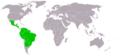 Desmodus rotundus distribution map 2.png