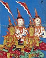 Detail, from- Bodhisattva in heaven with accompanying angels Wellcome L0030805 (cropped).jpg