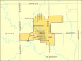 Detailed map of Colwich, Kansas.png
