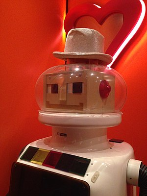 "Perfect Match (Australian game show) - ""Dexter"" the robot, from the 1980s series"