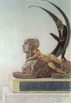 Les Diaboliques (short story collection) - Original frontispiece by Félicien Rops