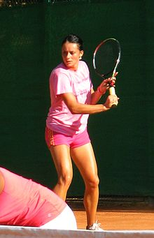 Diana Buzean at the BCR Open Romania Ladies 2011.jpg