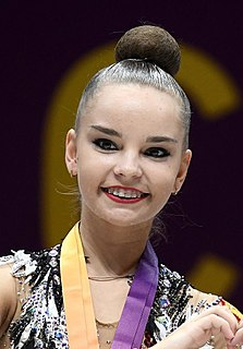Dina Averina Russian rhythmic gymnast