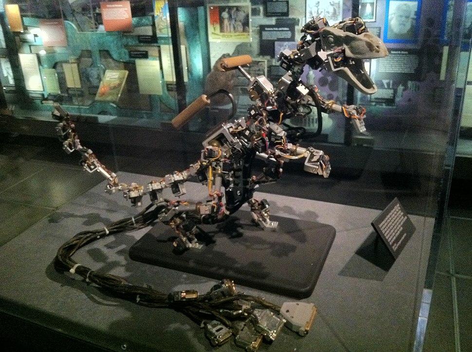 Dinosaur Input Device Velociraptor