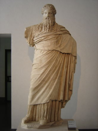 National Roman Museum - A Dionysus Sardanapalus from the Palazzo Massimo.