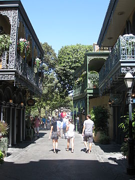 New Orleans Square.