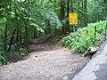 Divoká Šárka, tabule pro cyklisty.jpg