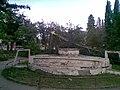 Dnes už neexistujúce torzo fontány oproti ŽS v Považskej Bystrici, 2009 - panoramio.jpg