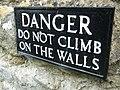 Do Not Climb - geograph.org.uk - 1333890.jpg