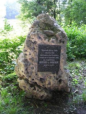 Heimito von Doderer - Memorial at Doderer's birthplace