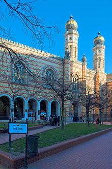 Dohány Street Synagogue - Wikipedia