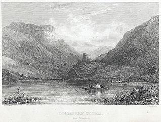 Dolbadern tower, near Llanberis