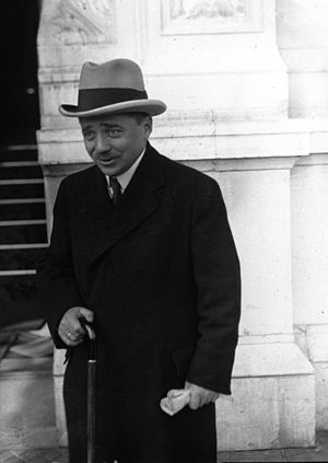 Engelbert Dollfuss - Chancellor Dollfuss in Geneva, 1933