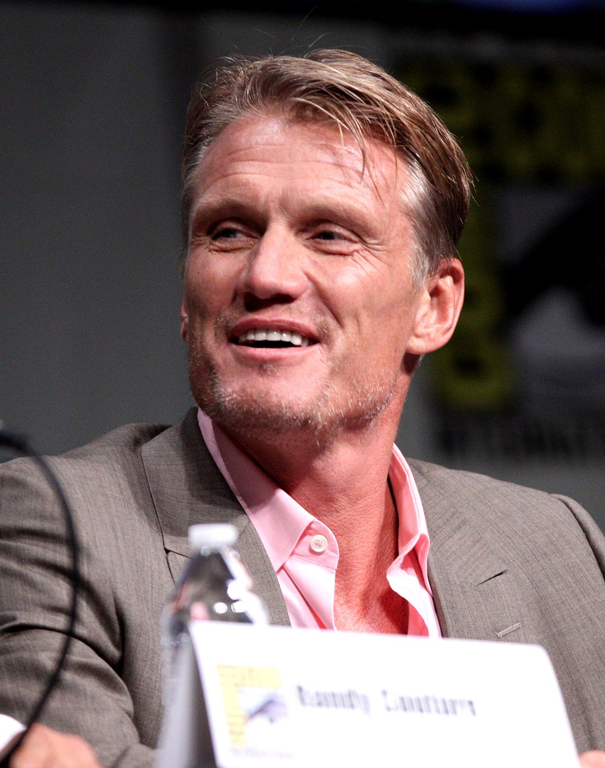 Dolph Lundgren Natural Hair Color