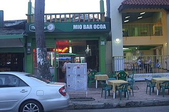 San José de Ocoa - Image: Dominican Republic Town 2