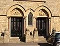 Doorway of the former Free Methodist Chapel, Lindley - geograph.org.uk - 246214.jpg