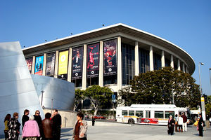Grand Avenue (Los Angeles) - Disney Concert Hall and the Los Angeles Music Center are located on South Grand Avenue