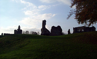 Sherborne Castle - The ruins of the old castle