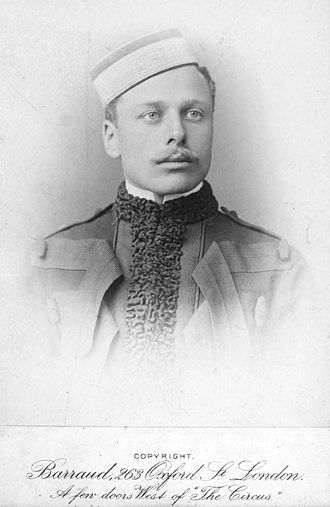 Douglas Haig, 1st Earl Haig - As a Hussar at age 23 in 1885