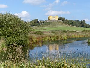 Stoke Park, Bristol - Duchess Pond and the Dower House, (2014)