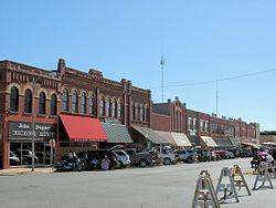 Downtown Anadarko, Oklahoma
