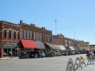 Anadarko, Oklahoma - Downtown Anadarko, Oklahoma