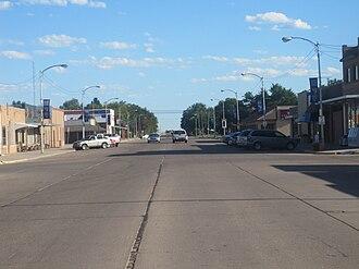 Sublette, Kansas - Downtown Sublette (2010)