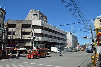 Tacloban - Avenida Rizal, downtown area of Tacloban.