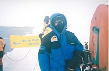 Dr. Michael Wolff, 1st Expedition to Scubadive and Skydive the Northpole, 1999.jpg.