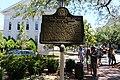 Dr. Wm. A Caruthers historical marker, Savannah.jpg