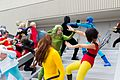 Dragon Con 2013 - JLA vs Avengers Shoot (9676975932).jpg
