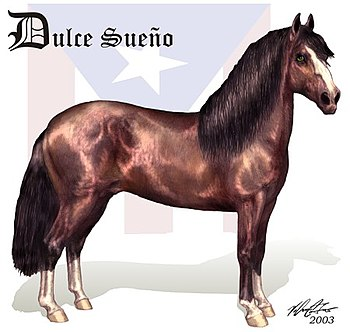 English: a Drawing of the Famous Puerto Rican ...
