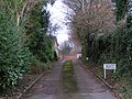 Driveway at the end of Green Lane - geograph.org.uk - 1619638.jpg