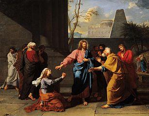 Le Christ et la Cananéenne