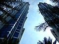 Dubai - JW Marriot marquis Dubai - with 355 meters the highest hotel building in the world - JW ماريوت ماركيز دبي - مع 355 متر أعلى مبنى فندق في العالم - panoramio.jpg