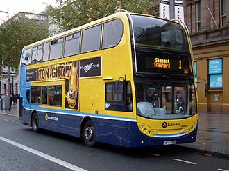 Dublin Bus - Alexander Dennis Enviro400 bodied Volvo B9TL with Dublin Bus branding