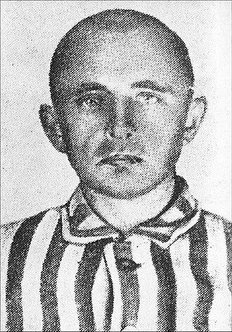 Resistance movement in Auschwitz - Stanisław Dubois, of the Polish Socialist Party, an organizer of one of the resistance groups in Auschwitz.