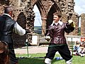 Duel at Goodrich Castle - geograph.org.uk - 546721.jpg