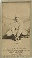 Dummy Hoy, Washington Statesmen, baseball card portrait LCCN2007686954.tif