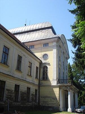 Pejačević Castle in Virovitica - Image: Dvorac Pejačević, Virovitica sjeveroistok