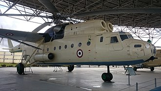 Mil Mi-6 - Egyptian Air Force Mil Mi-6 on display at the Air Force museum in Almaza Air Base, Cairo.