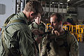 EOD Sailors conduct rope suspension training aboard USS George Washington 141009-N-ZK360-622.jpg