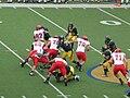 Eagles on offense at EWU at Cal 2009-09-12 4.JPG