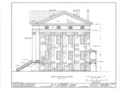 East Alabama Masonic Female Institute, 205 East South Street, Talladega, Talladega County, AL HABS ALA,61-TALA,1- (sheet 6 of 12).png