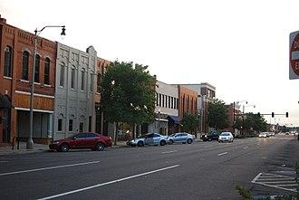 Norman, Oklahoma - Main Street in Norman