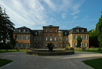 Bayreuth (district) - Image: Eckersdorf Schloss Fantaisie