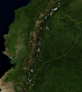 Geography of Ecuador