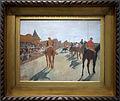 Edgar degas, la sfilata (cavalli da corsa davanti alle tribune) 1866-68, 01.JPG
