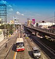 Edsa viewed from Ramon Magsaysay Cubao High School overpass - panoramio.jpg